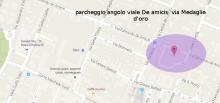 Parcheggio nelle vicinanze della località di arrivo dove si terrà l' Assemblea Regionale E.R.
